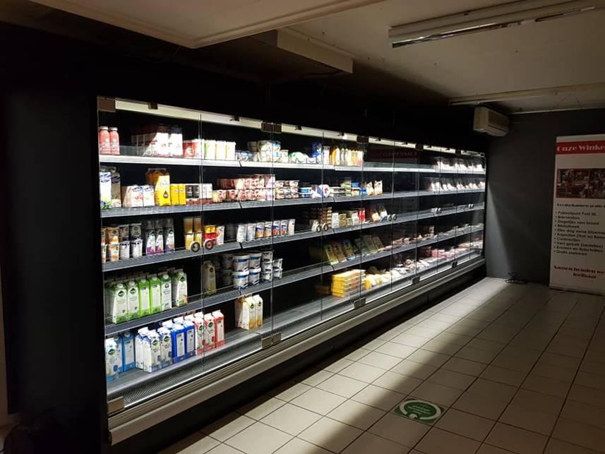 Nieuwe koeling in Onze Winkel Eext